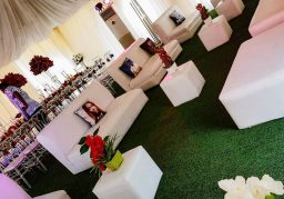 120-seater lounge for hire