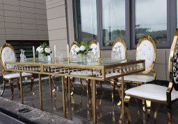 Crystal Tables for Rent