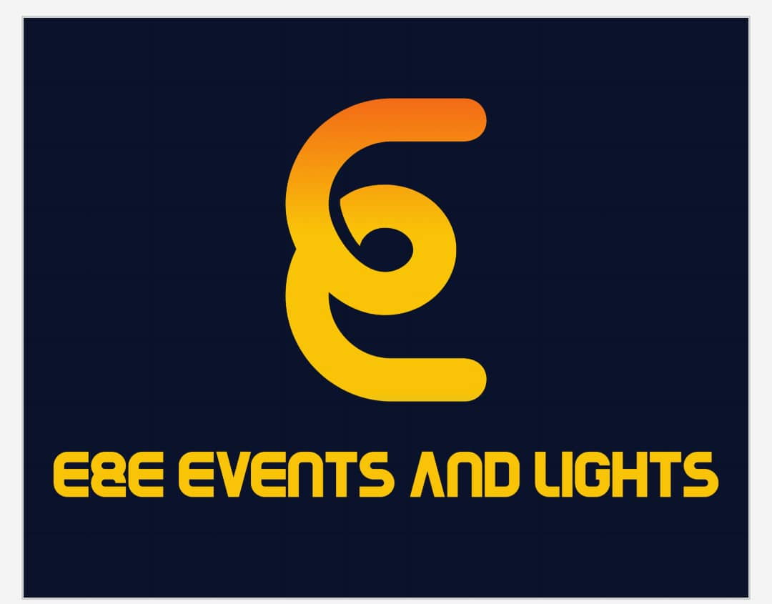 E&E Events & Lights Logo