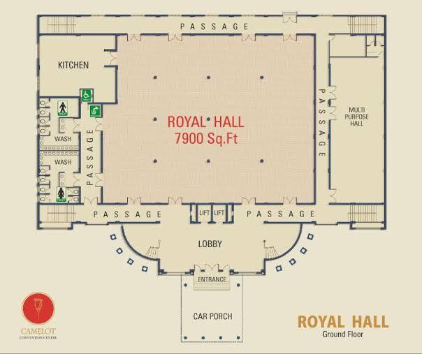 Event floor plan design